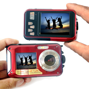 Image 2 - HD 1080P Waterproof Digital Camera Dual Screens (Back 2.7 inch + Front 1.8 inch) 16x Zoom Underwater Camcorder Cam (DC998)