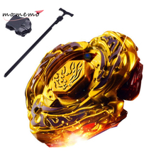 MIRABBIT High Quality 1pcs Beyblade Metal Fusion 4D Set Hot style gold combat  Assembly gyro Kid's Toys Gyroscope Best Gifts