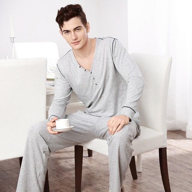 2016 winter brand men's pijamas hombre casual pajamas thicken warm polyester striped hooded collar full sleeve men pajamas