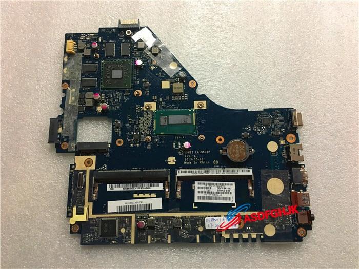 D'origine POUR ACER Aspire E1-572 V5WE2 LA-9531P NBV8N11003 mère D'ordinateur Portable livraison gratuite