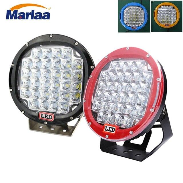 Car Round 9Inch 96W LED Work Light 12V/24V High Power Led Spot Light For Lada 4x4 Offroad Truck Tractor ATV SUV Driving