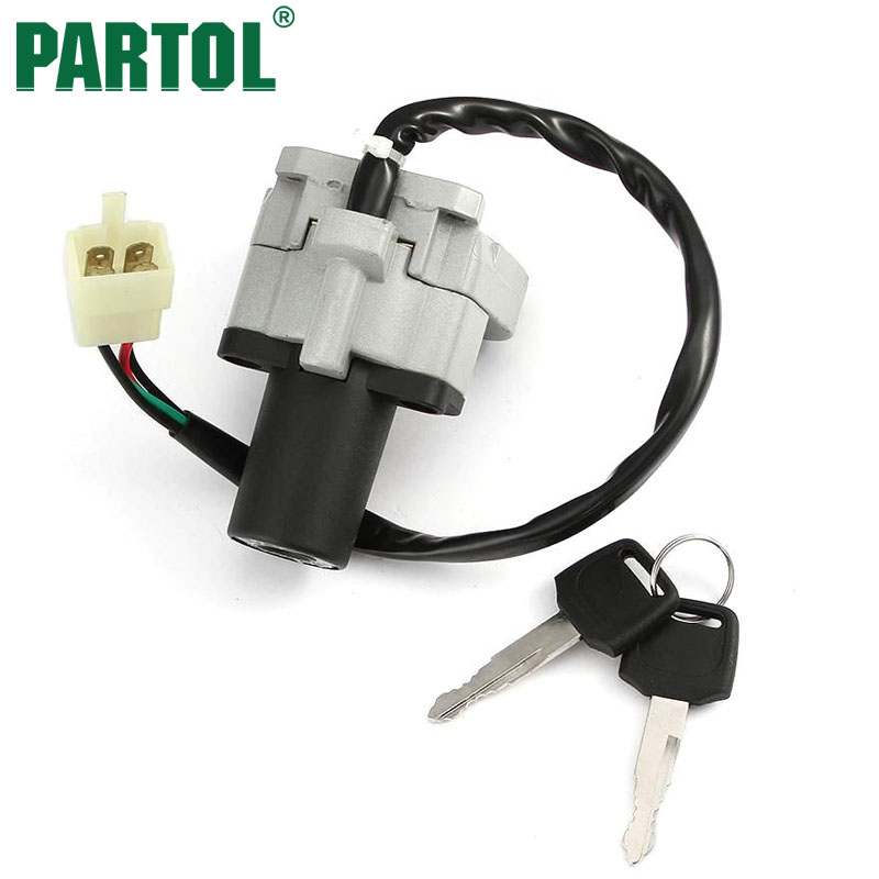 partol ignition switch with lock set motorcycle for yamaha. Black Bedroom Furniture Sets. Home Design Ideas