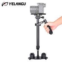 YELANGU Aluminium Alloy Steadicam DSLR Video Camera Stabilizer Portable Photography Video Steadycam S60 60cm