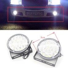 Dongzhen 2X 12V LED Car Flexible Daytime Running Lights