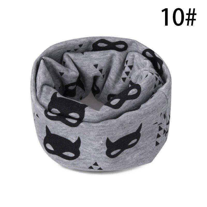 Модный шарф на Шею Зимние теплые Детские шарф из хлопка для обувь девочек мальчиков толстые теплые кольца шарфы женщин дети комфорт Унис - Цвет: J