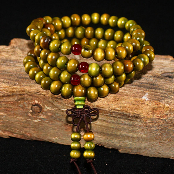 6MM Buddha Meditation Beads For Women Men Jewelry Prayer Bead Rosary Hanging Decoration Natural Sandalwood Craft P0.2