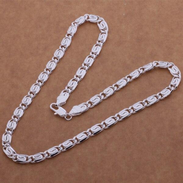 ᗖAN613 À La Mode en gros Collier en argent, 925 bijoux de mode d ... e4bde367fea9