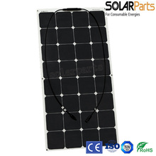Solarparts 1pcsx100W Factory Cheap 12V flexible PV font b solar b font font b panel b