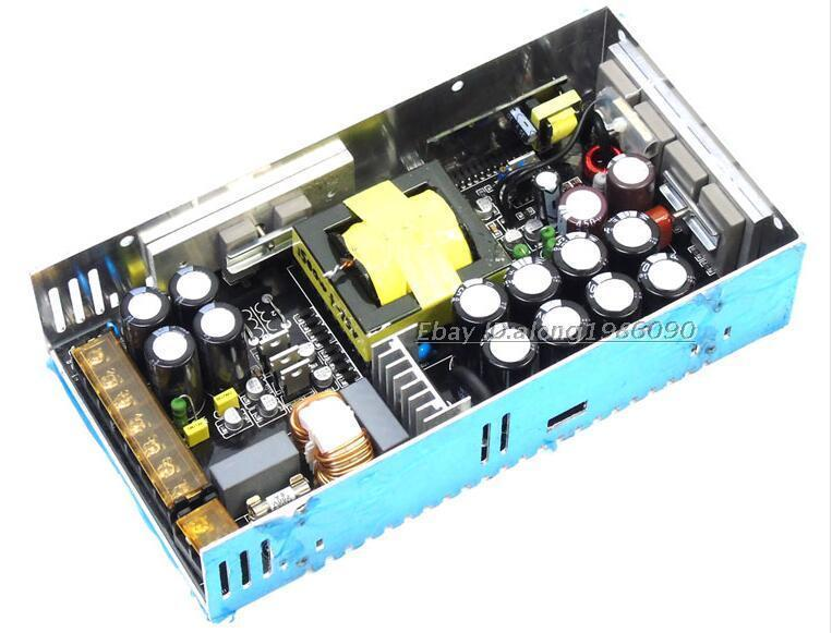 1600W High Power HIFI Power Amplifier Switching Power Supply AMP PSU +/-DC75V hifi tda7498 digital amplifier power amp 70w 2 psu treble bass adjustment