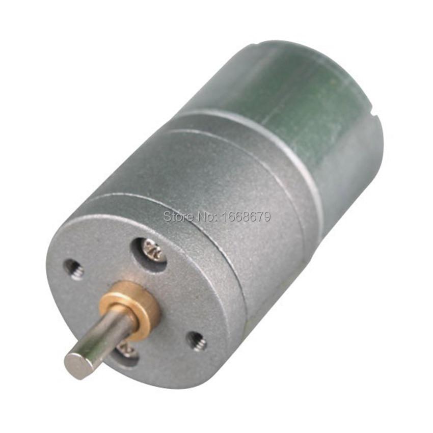 EBOWAN 12V geared motor 6V 12 volt Electric DC Motor with Metal gear box запчасти для детского транспорта motor 6v 12v rs390