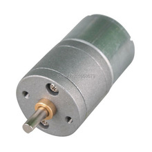 цена на EBOWAN 12V geared motor 6V 12 volt Electric DC Motor with Metal gear box
