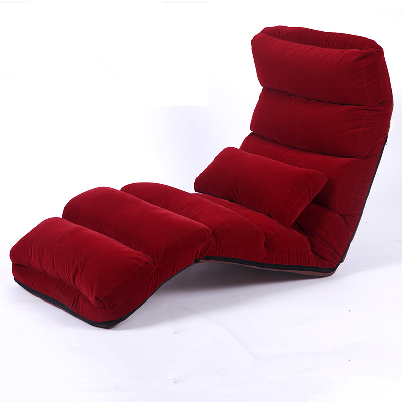 Admirable Floor Folding Chaise Lounge Chair Modern Fashion 6 Color Living Room Comfort Daybed Lazy Reclining Upholstered Sleeper Sofa Bed Ocoug Best Dining Table And Chair Ideas Images Ocougorg