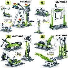 Inventor Technic Building Blocks Sets Early Education Learning DIY Bricks Creator Educational Toys for Children стоимость