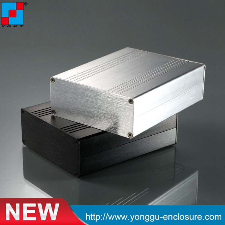 90*36-110mm (WxH-D) aluminum electronics pcb enclosure/ junction box for pcb use aluminum housing 1 piece free shipping smooth surface aluminum color aluminium metal junction box for electronics pcb board design 38x150x155mm
