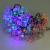 10 M 60LED Cereza de Energía Solar Led Cadena Luces de La Novedad de Vacaciones del Acontecimiento de La Boda Guirnalda de Luz Pandant para Decoración de Jardín
