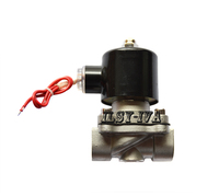 2w Series DN8 Stainless Steel Solenoid Valve Two Way DC12V DC24V Direct Acting Solenoid Valve