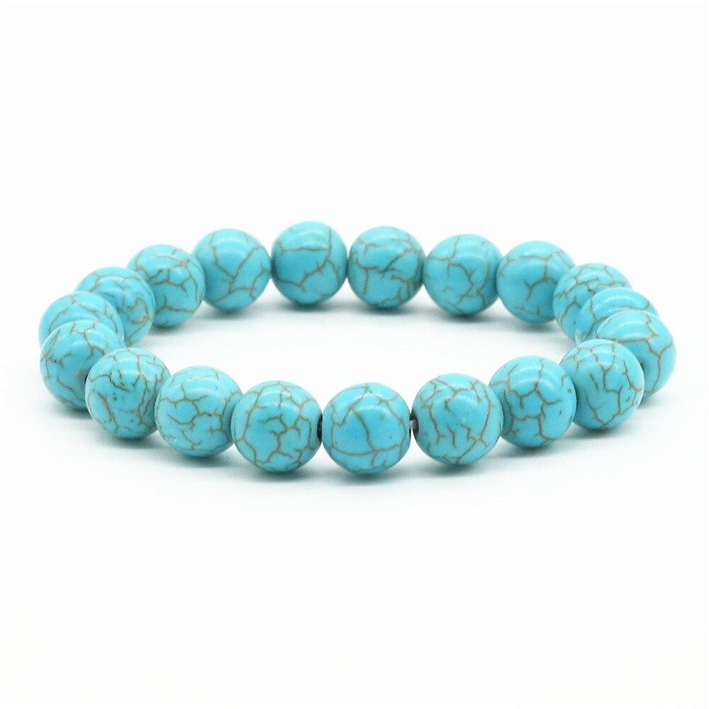 bracelet femme bleu turquoise