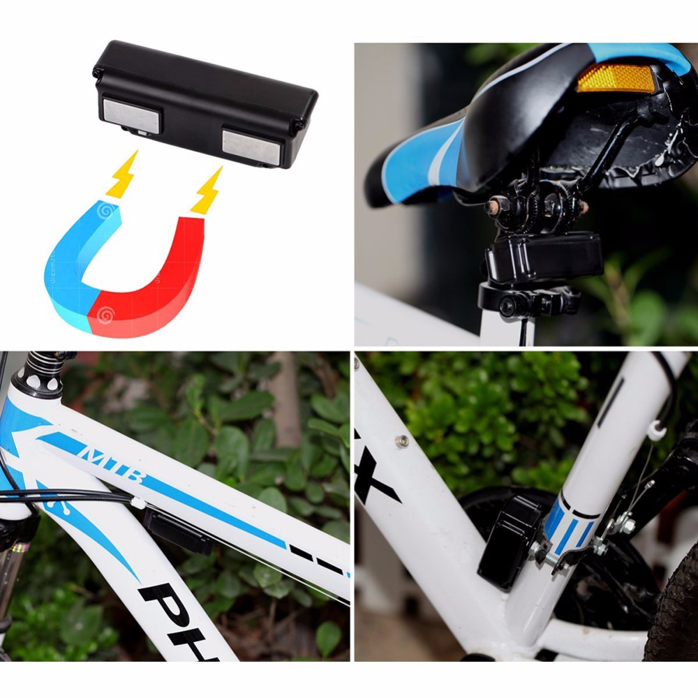 New GPS Locating Tracker Motorcycle Bike Electrocar GPS Locating Anti-theft Strong Magnetic Free Installation bike Call Alarm new arrival gsm tracker gps collar car gps tracker positioning motorcycle theft anti lost satellite locator vt310