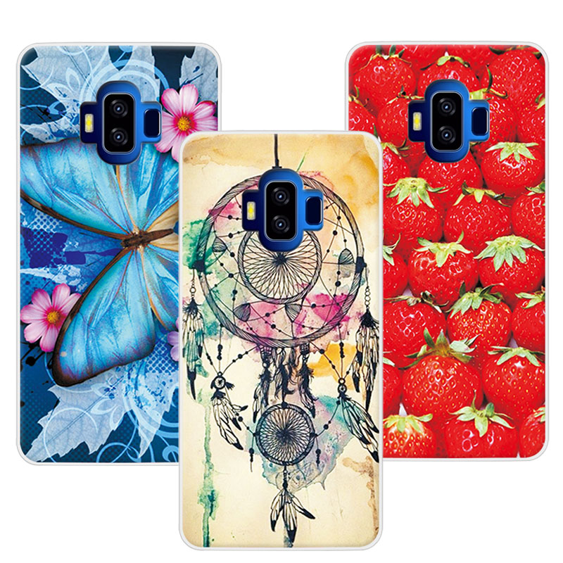 Women Girls Beautiful Floral Soft TPU Case For Vkworld S8 5.99Colorful Flowers Skin Back Cover For Vkworld S8