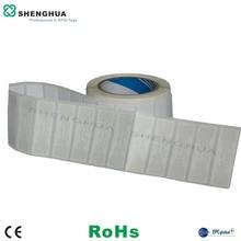 2000 шт/рулон UHF Пассивная RFID умная программируемая метка клейкая бирка для одежды для управления запасами
