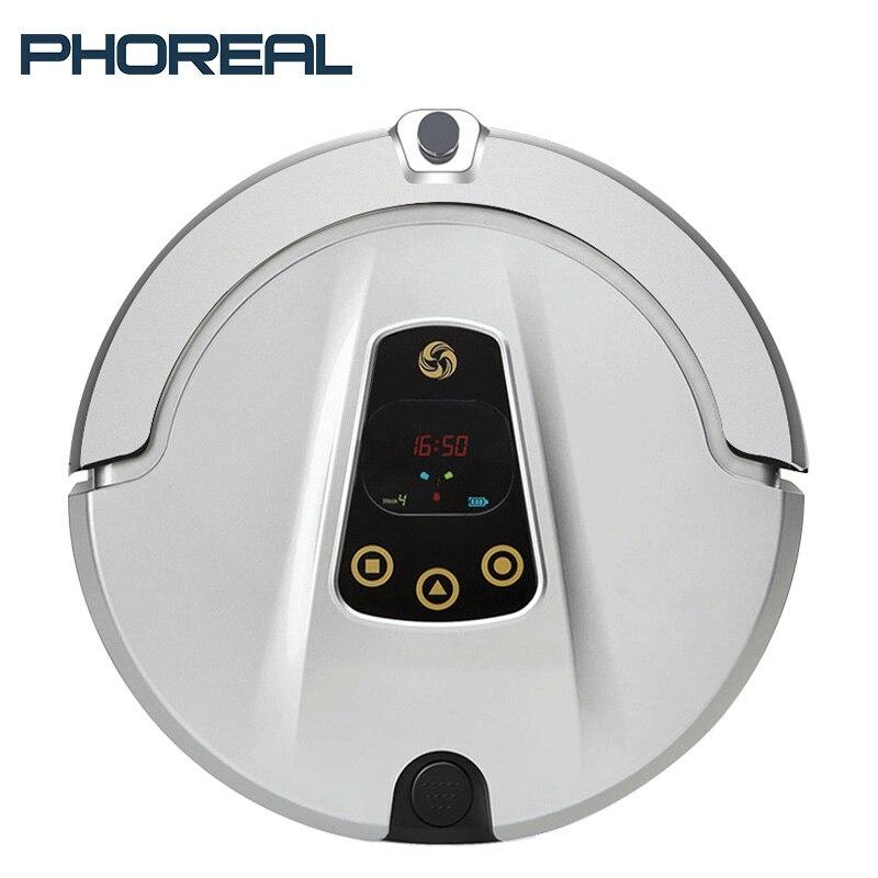 PhoReal FR-T Prévues Route Robotique aspirateur écran de caméra fonction wifi robot aspirateur