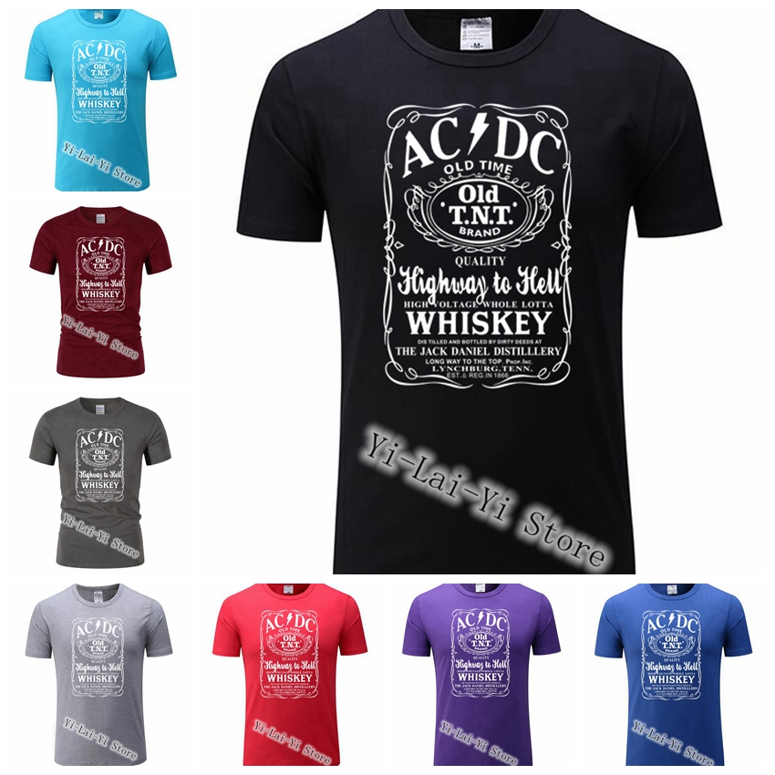 Music Band ACDC   T  -  Shirt   For Men Dropshipping Summer   T     Shirt   AC DC Short Sleeve Plus Size Team Men's Tee TShirt Free Shipping