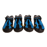 4pcs Pet Dog Boots Shoes Resistant Cute Dog Waterproof Hiking Multifunction Non slip Shoes XH8Z