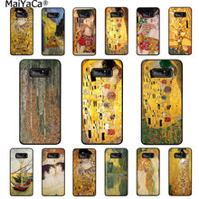 MaiYaCa the kiss Gustav Klimt Coque Shell Phone Case for Samsung note 3 4 5 7 8 9 Huawei P9 lite mate 20 X Pro Mobile Cases(China)