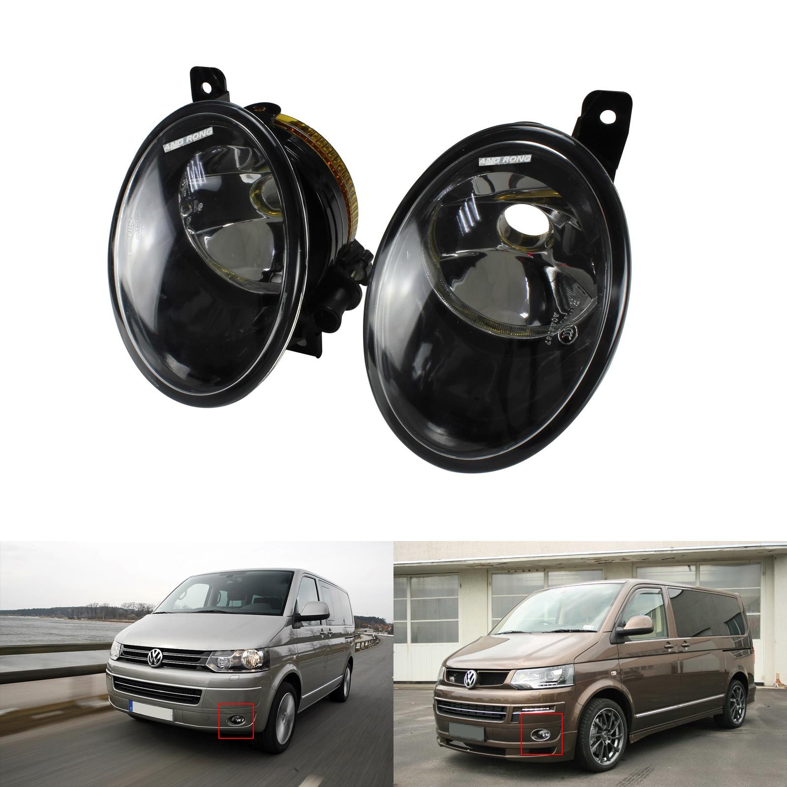 Red S.Steel VW T6 CARAVELLE MULTIVAN  Chrome Mirror Cover Streamer Trims 2Pcs