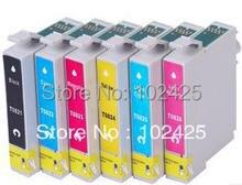 T0821-t0826 cartuchos de tinta para epson r270 r390 t50 t59 tx650 t50 tx720 tx700 tx800 tx700w tx800w rx590 rx610