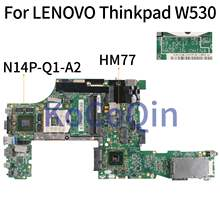 KoCoQin ноутбук материнская плата для Lenovo Thinkpad W530 K1000M материнская плата 11220-3 48.4QE12.031 N14P-Q1-A2 2G HM77(China)
