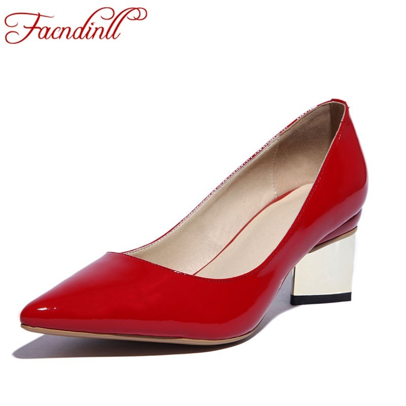 FACNDINLL 2017 spring autumn women pumps sexy red silver high heels shoes fashion pointed toe wedding shoes party women shoes siketu free shipping spring and autumn high heels shoes career sex women shoes wedding shoes g012 nightclub pumps