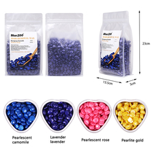 500g/Bag Dropship Painless Without Strips Depilatory Shimmer Hard Wax Beans for
