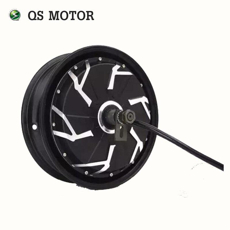 QS Motore 12 pollici 260 5000 w 45 H V4 Avanzata Elettrico Moto Kit di Conversione