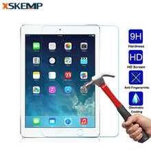 For iPad mini 2 3 4 Air Air2 Pro 9.7 9H Shockproof Toughened Real Tempered Glass LCD Tablet Film Clear Screen Protector Cover