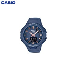 Наручные часы Casio BSA-B100-2AER женские кварцевые на пластиковом ремешке