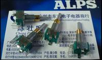 2PCS LOT ALPS Dual EC11EBB24C03 Dual Encoder With Switch 30 Positioning Number 15 Pulse Point Handle