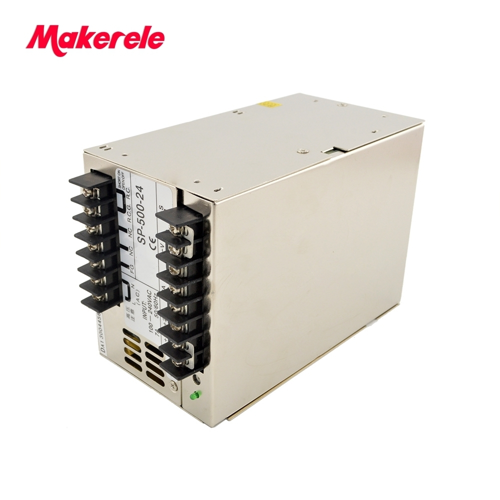 low price multi terminals high power 13.5v SP-500-13.5 36A 500w CE DC output switching power supply with PFC Power Equipment low price multi terminals high power 13.5v SP-500-13.5 36A 500w CE DC output switching power supply with PFC Power Equipment
