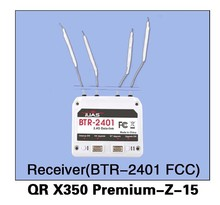 Walkera QR X350 Premium-Z-15 BTR-2401(FCC) Receiver for Walkera QR X350 Premium Helicopter