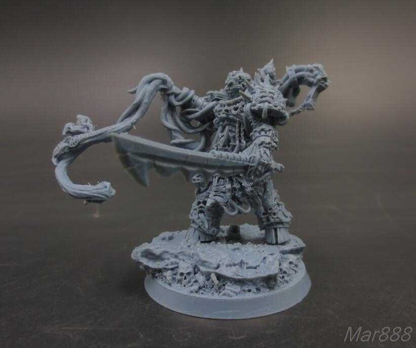 28mm Resin models IMPERIAL BOOK BEARER with base - AliExpress