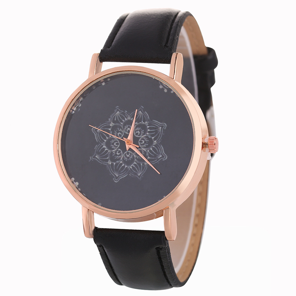 Quartz Watch Ladies Leather Couple Watch Fashion Romantic Woman Relogio Faminino Zegarek Damsk