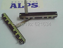 Japan ALPS Alps 6 cm Slide Potentiometer 449C-09369034-10KB associated with a single step 20pcs/lot switch