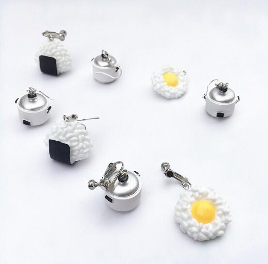Rice Cooker Earrings 5