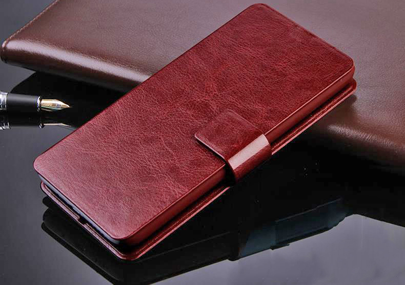 Luxury Fashion Retro Royal PU Leather Cover For Fly IQ 4415 Era Style 3 Flip Phone Protect Case With Stand Free Shipping