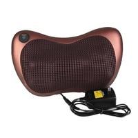 8 Roller Infrared Heat Electric Massage Pillow Kneading Massage Device Neck Relaxation Pillow Shoulder Back Massager
