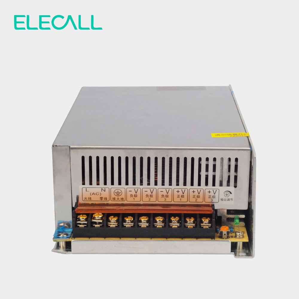 change code  Output Switching Power Supply AC To DC 24V 20.8A  500W Switch Power Supply AC DC Converter change over switch both power supply 63a