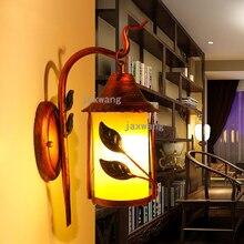 Vintage Industrial lámpara de pared retro hierro loft dormitorio pasillo bar pasillo almacén restaurante pub café aplique de pared