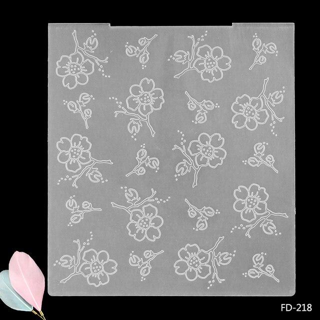 2017 new arrival scrapbook beautiful flowers design diy paper 2017 new arrival scrapbook beautiful flowers design diy paper cutting dies scrapbooking plastic embossing folder mightylinksfo