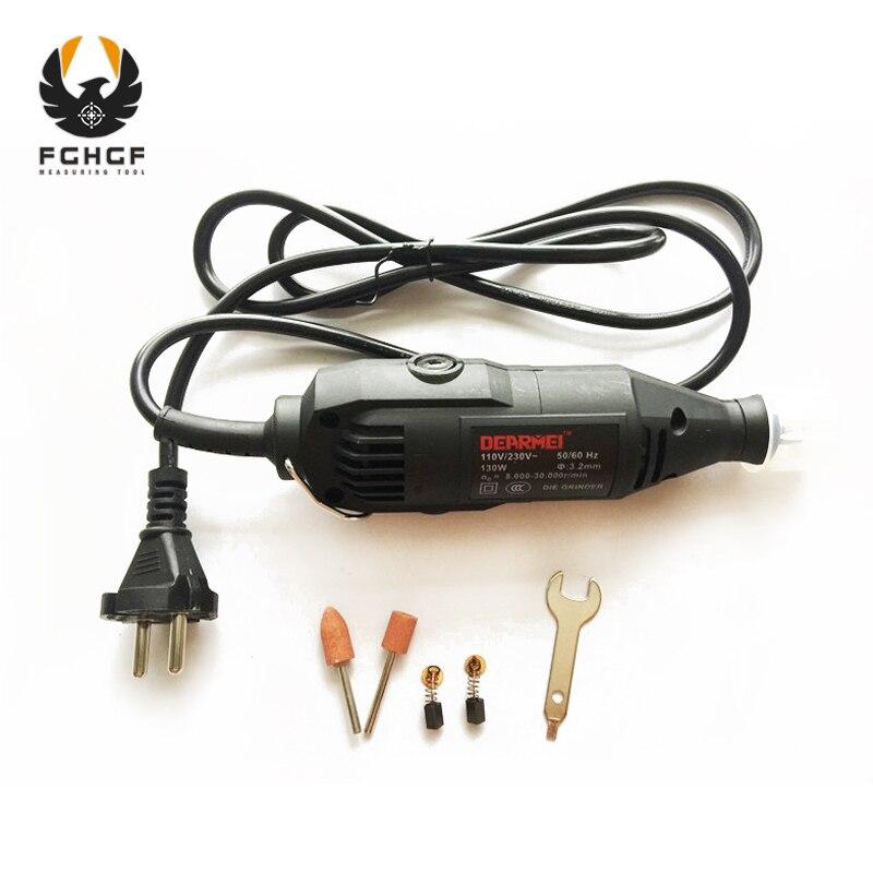 FGHGF 220 V 180 W Elektrische Power Werkzeuge Dreh Geschwindigkeit Mini Bohrer Gravur Maschine Schleifen Einheit Fräser Polieren werkzeug