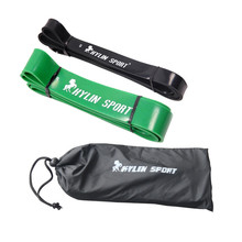 black and green combination strength resistance bands pull up strengthen muscles for wholesale free shipping